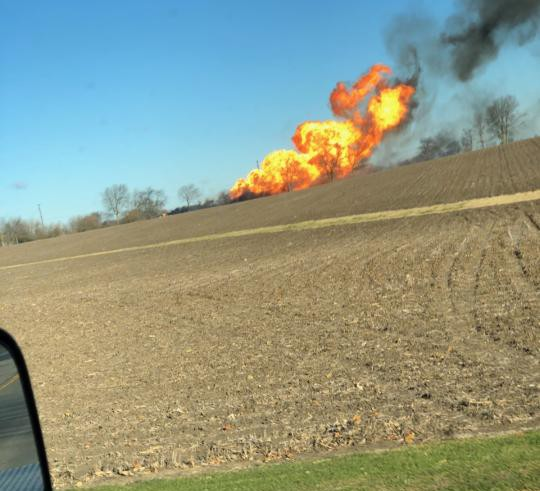 2 dead after farm equipment triggers natural gas explosion in northern IL